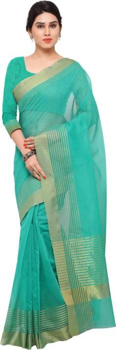 Ratnavati Striped Kanjivaram Art Silk Saree