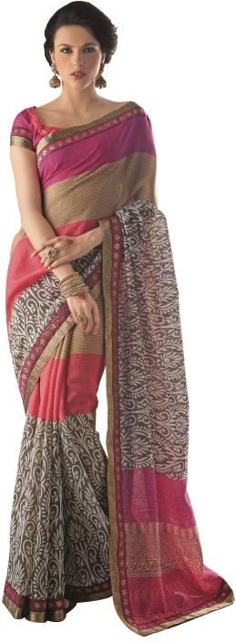 Aesha Printed Daily Wear Art Silk Saree