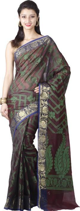 Chandrakala Printed Banarasi Art Silk Saree