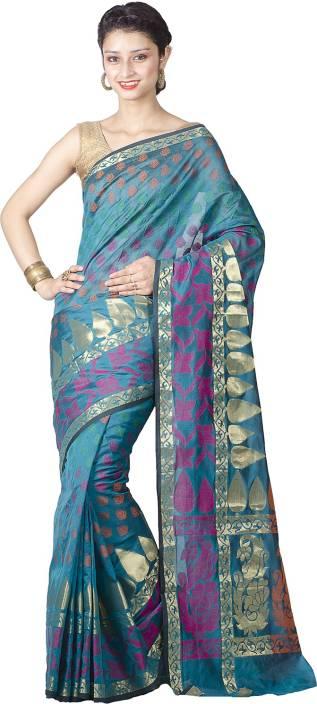 Chandrakala Paisley Banarasi Art Silk Saree