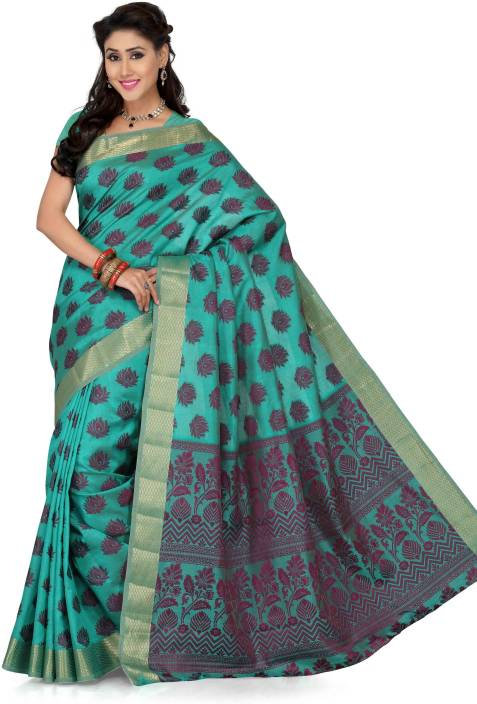 Ishin Printed Fashion Tussar Silk Saree