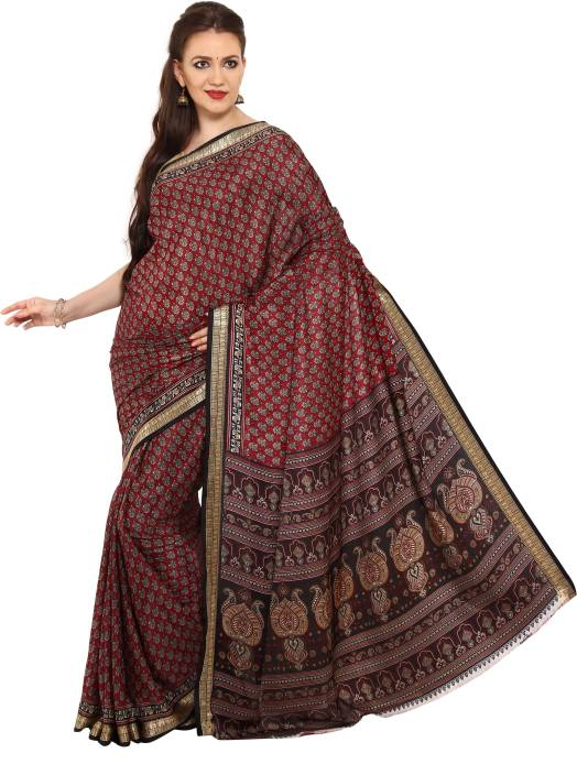 Parchayee Printed Fashion Synthetic Saree