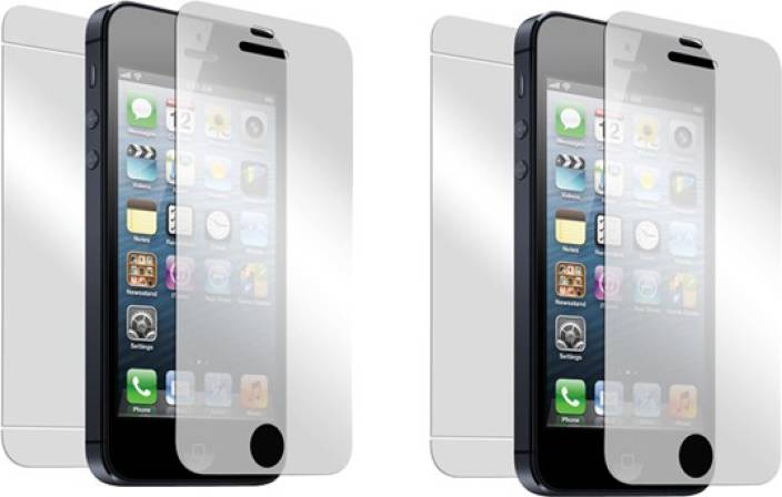 Saadgi Collections Front and Back Screen Guard for Apple iPhone 4