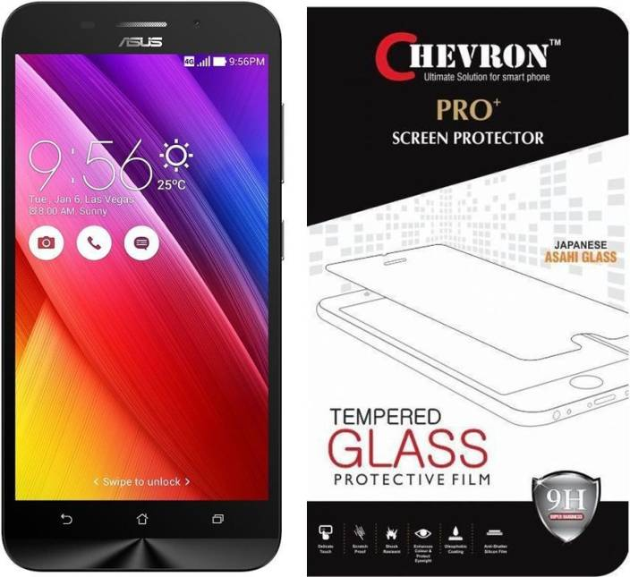 Chevron Tempered Glass Guard for Asus Zenfone Max