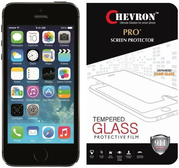 Chevron Tempered Glass Guard for Apple iPhone 5s, Apple iPhone SE