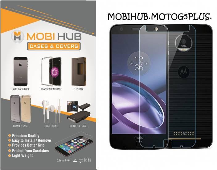 MOBIHUB Tempered Glass Guard for Motorola Moto G5 Plus