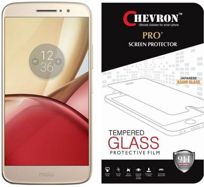 Chevron Tempered Glass Guard for Motorola Moto M