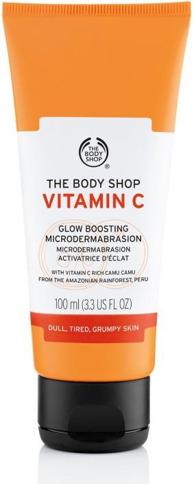 body shop vitamin c cream