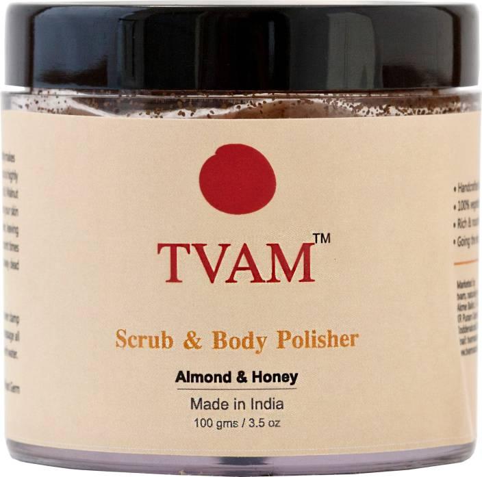 TVAM Almond & Honey Scrub Body Polisher Scrub