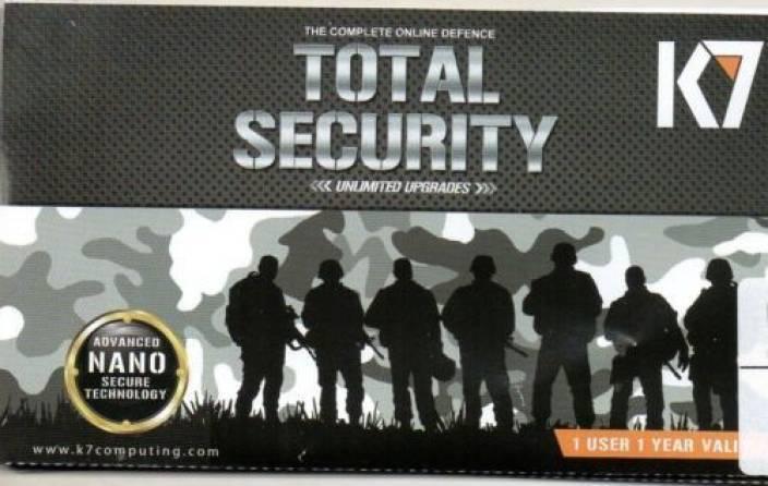 K7 Total Security 1Yr Renewal Key