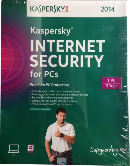 Kaspersky Internet Security 2014 1 PC 3 Year
