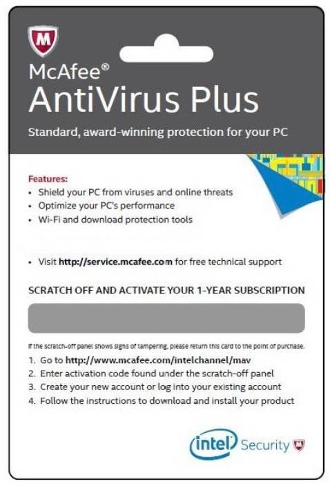 McAfee Mcafee Antivirus Plus