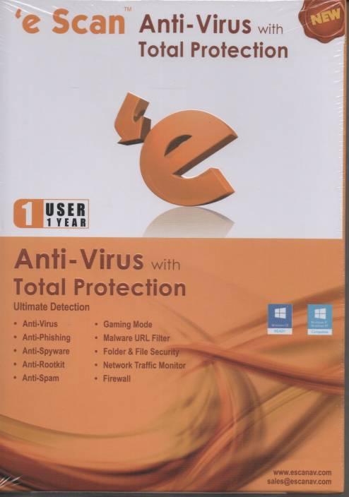 eScan Anti Virus Total Protection