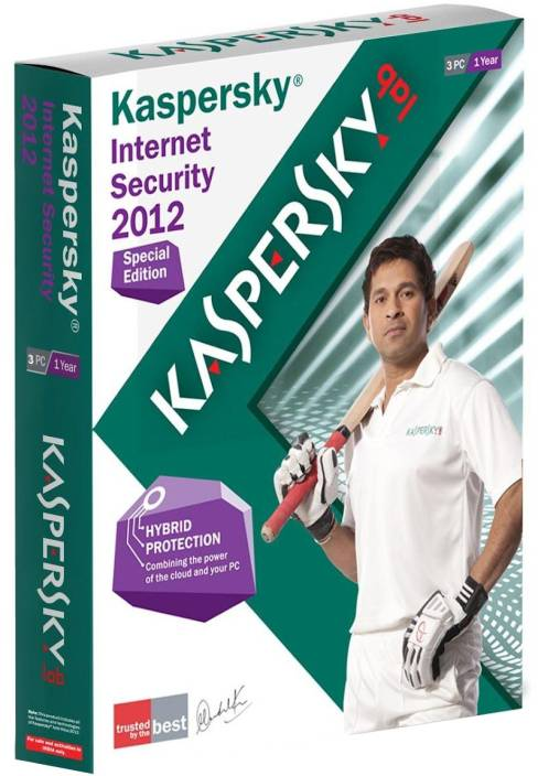 Kaspersky Internet Security 2012 Special Edition 3 PC 1 Year
