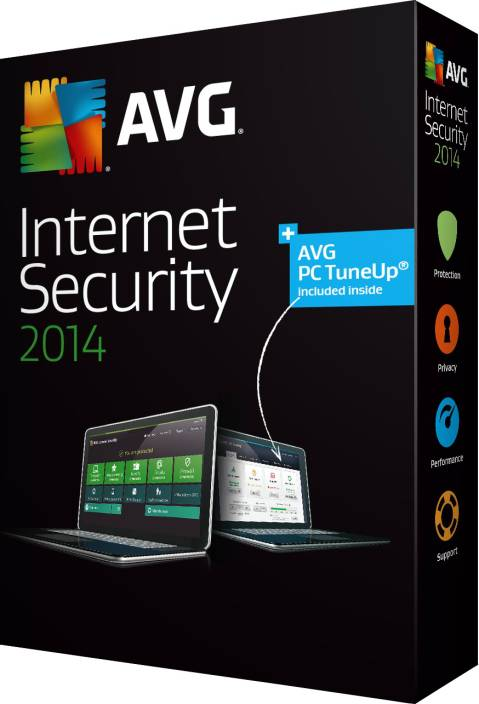 AVG Internet Security 2014 1 PC 1 Year
