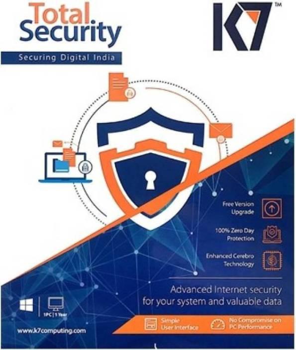 K7 Total Security 5 Pcs 1 Year 2017