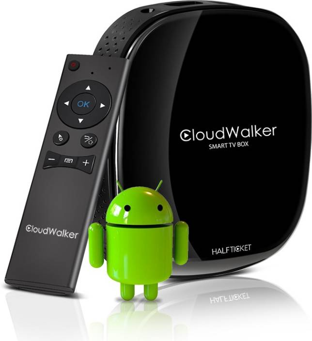 Cloudwalker Halfticket Wifi streaming box model A8 Media Streaming Device