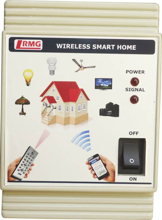 RMG Android App & Ir Based Automation - 6 Devices Control Wireless Sensor  Security System