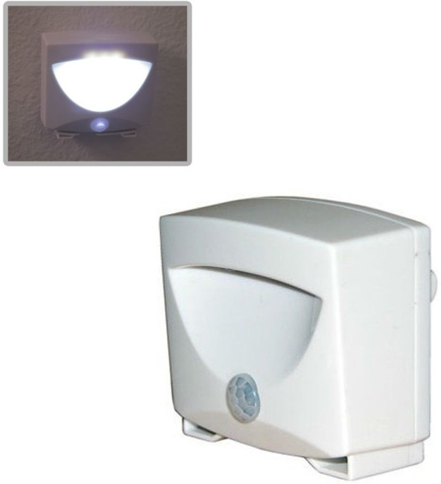 pindia mighty light indoor outdoor motion sensor activated led wireless sensor security system