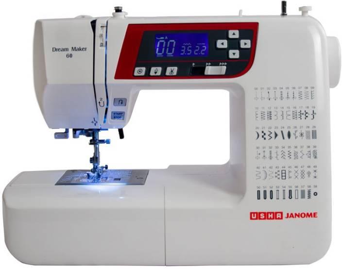 Usha Dream Maker 40 Electric Sewing Machine Price In India Buy Inspiration Sewing Machine Price Flipkart