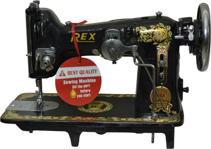 Rex Zigzag Embroidery Model Manual Sewing Machine Price In