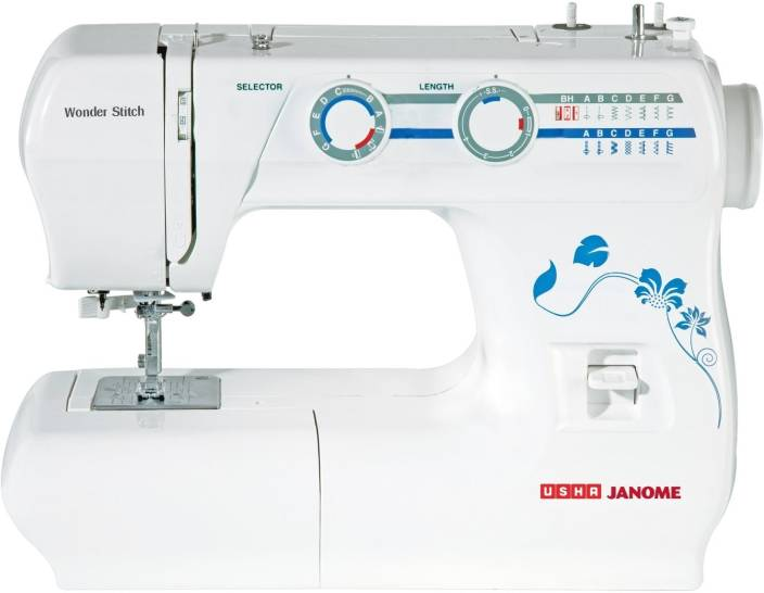 Usha Wonder Stitch Electric Sewing Machine Price In India Buy Usha Delectable Home Sewing Machine Price