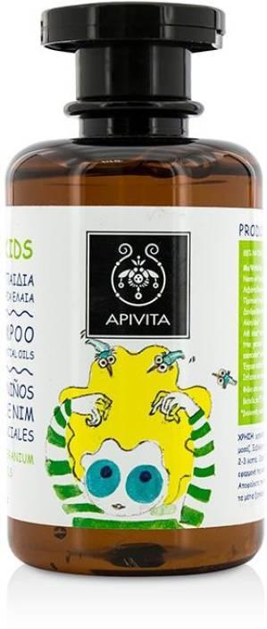 Apivita School Kids Shampoo With Neem Oil And Essential Oils - Price