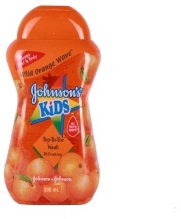 Johnson's Kid Wild Orange Wave Top-To-Toe Wash Refreshing-Malaysia