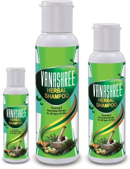 Sujanil Vanashree Herbal Shampoo : Pack of 3