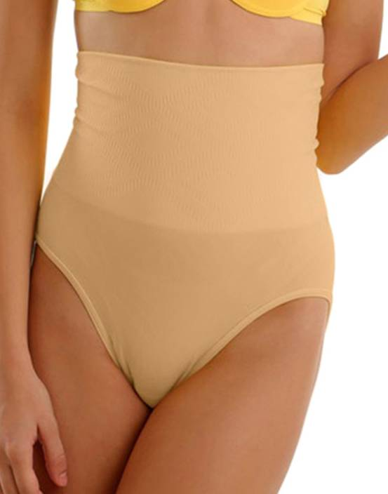 eef69e240febf Clovia High Waist Tummy Control Panty In Nude Women s Shapewear - Buy Beige  Clovia High Waist Tummy Control Panty In Nude Women s Shapewear Online at  Best ...