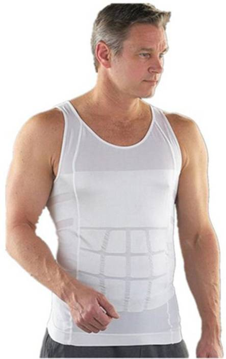 bf46f13172 Millennium Slim N Lift Body Shaper Men s Shapewear - Buy White Millennium  Slim N Lift Body Shaper Men s Shapewear Online at Best Prices in India