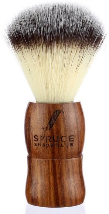 Spruce Shave Club Genuine Wood - Imitation Badger Hair Shaving Brush