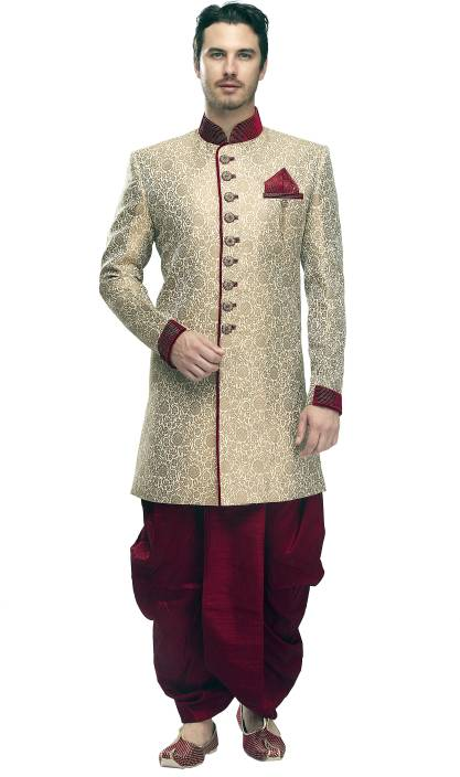 Manyavar Exquisite Self Design Sherwani