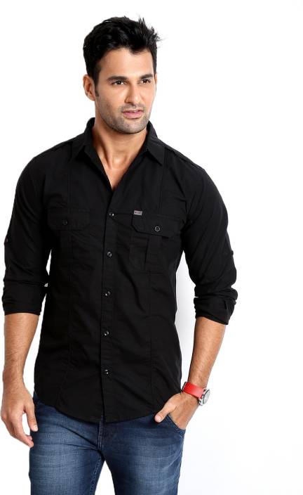 Black Shirt Casual Custom Shirt