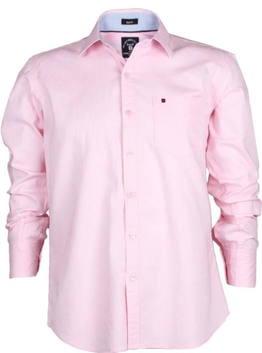 d2ffb42aaf41 Cool Colors Men's Solid Casual Cutaway Collar Shirt - Buy Pink Cool Colors  Men's Solid Casual Cutaway Collar Shirt Online at Best Prices in India ...