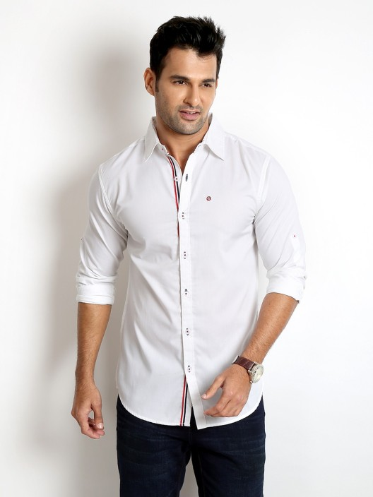 Mens Casual White Shirts