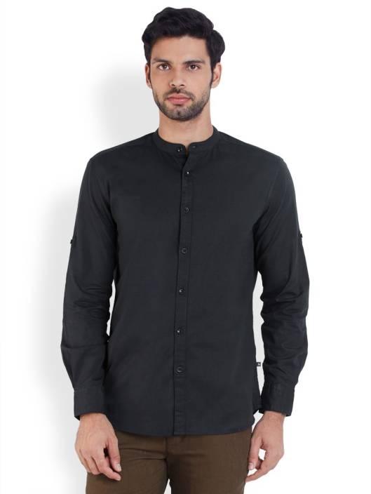 Parx Men's Solid Casual Shirt