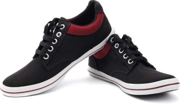 sparx black canvas shoes flipkart style guru fashion
