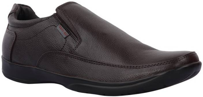 Red Chief Brown Formal Shoes Slip On For Men