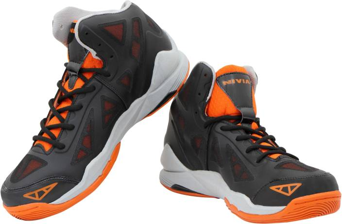 d8ce058e35ae Nivia Typhoon Basketball Shoes For Men - Buy Orange Color Nivia ...