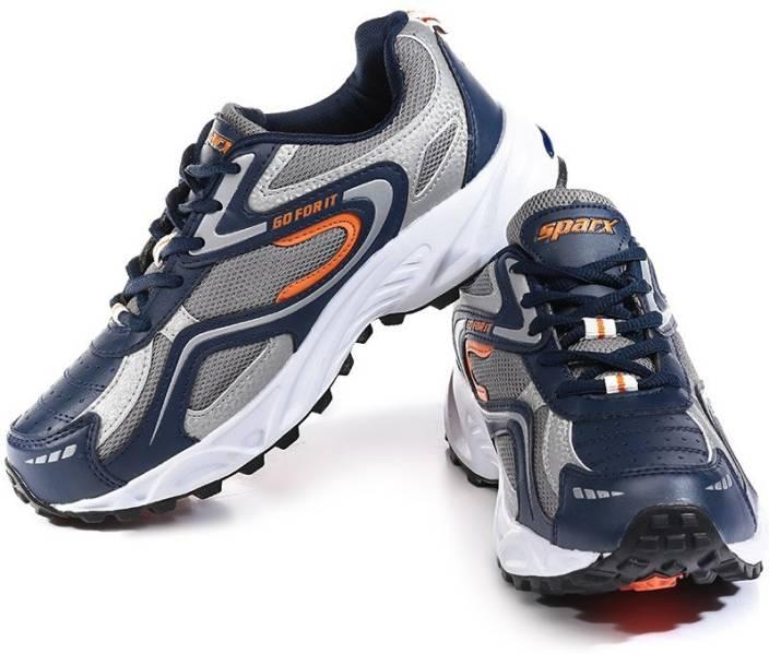 52324fa399 Sparx Mens Tribute NavyBlue & Orange Running Shoes For Men