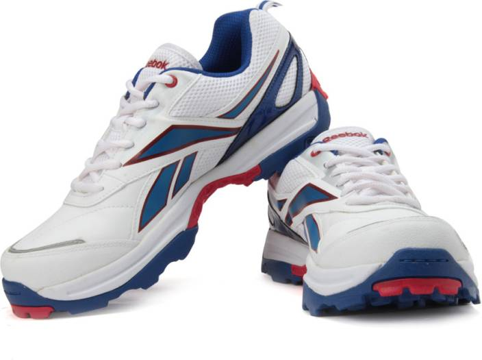 8f8a7b551b0f REEBOK All Rounder Lp Cricket Shoes For Men - Buy White