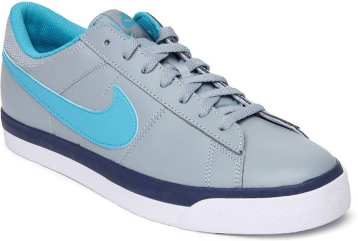 96949e34eaa4 Nike Match Supreme Leather Sneakers For Men - Buy DOVE GREY BLUE ...