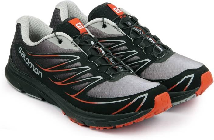 Salomon SENSE MANTRA 3 ALUMINIUM BLACK OR Trail Running Shoes For Men  (Black 40676a06d6d