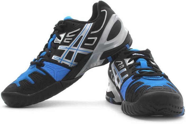 3c06e009dda2c Asics Gel Resolution 5 Men Tennis Shoes For Men - Buy Black Silver ...