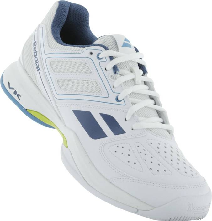 Babolat Pulsion Bpm All Court M Tennis Shoes For Men - Buy White ... eaa68a70988