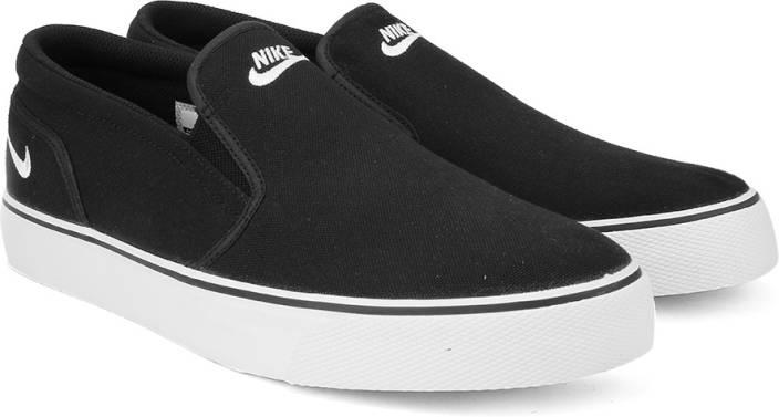 fe0276a71917ec Nike TOKI SLIP TXT Men Sneakers For Men - Buy BLACK WHITE Color Nike ...