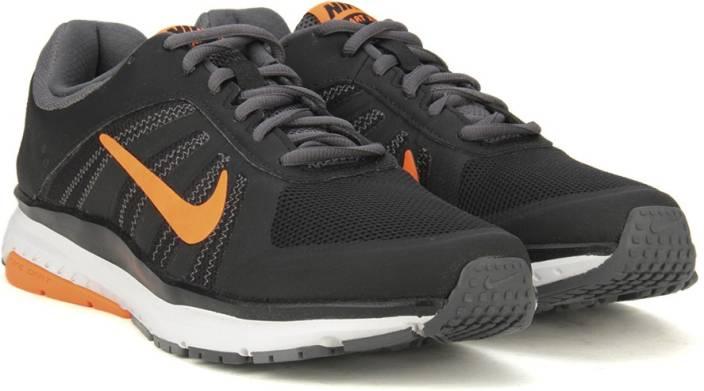 san francisco 3f627 e1674 Nike DART 12 MSL Running Shoes For Men - Buy BLACK/TOTAL ORANGE-DARK ...