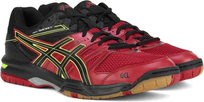 71d805cd8 Asics GEL-ROCKET 7 Running Shoes For Men - Buy RACING RED/BLACK ...