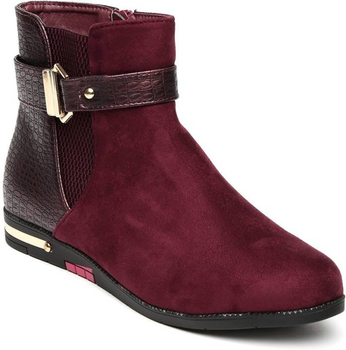 Addons Addons Metal Fittings Pu Sole Ankle Boots Boots For Women